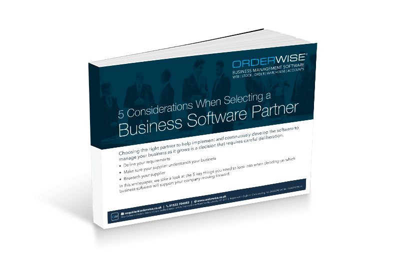 Business Software Partner | Orderwise