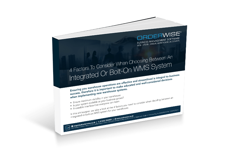 Integrated or bolt on WMS system | Orderwise