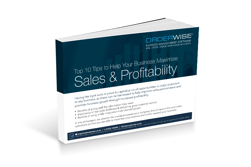 Sales and Profitibility | Orderwise