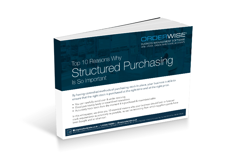 Structured Purchasing | Orderwise