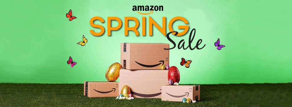 Amazon sale banner