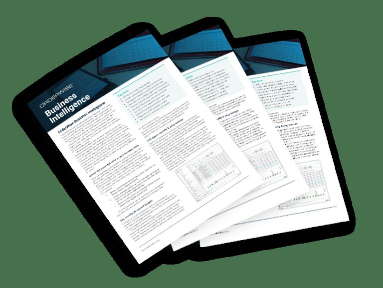 OrderWise Business Intelligence Brochure