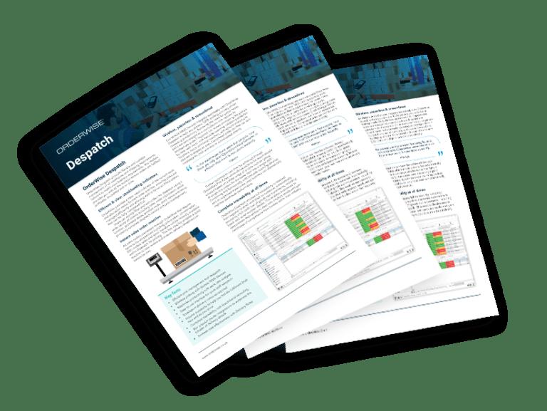 OrderWise Despatch Brochure