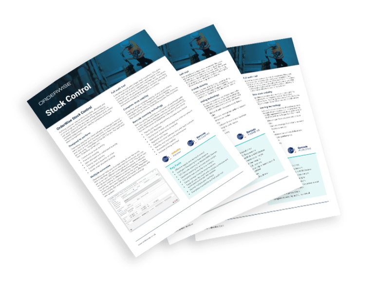 OrderWise Stock Control Brochure