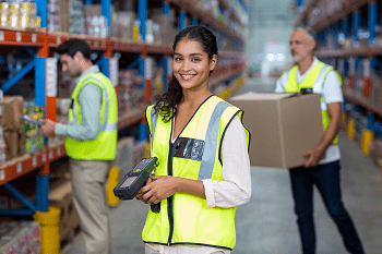 Warehouse scanning a   Orderwise