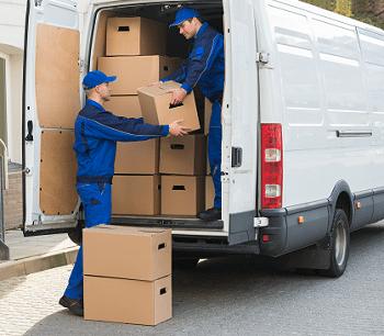 loading van Routing