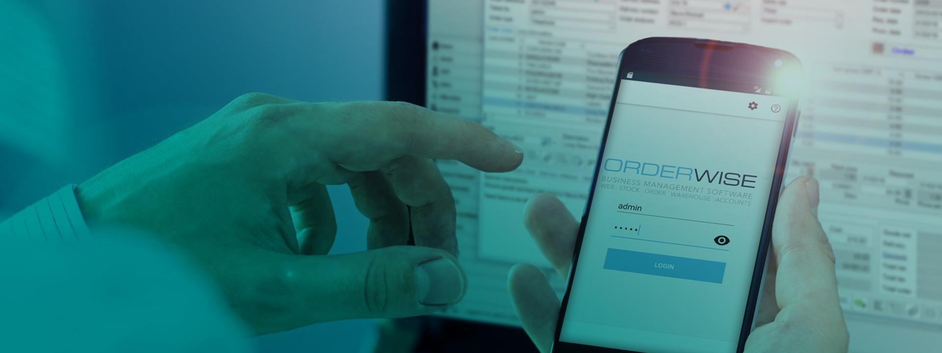 Order Management Banner Mobile | Orderwise