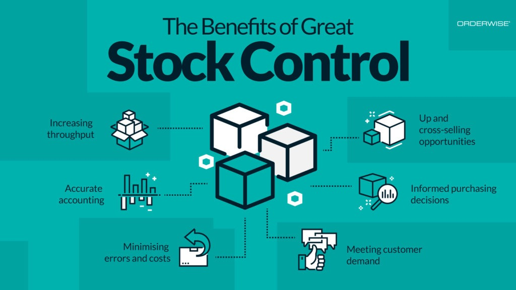 Graphic The Benefits of Great Stock Control | Orderwise