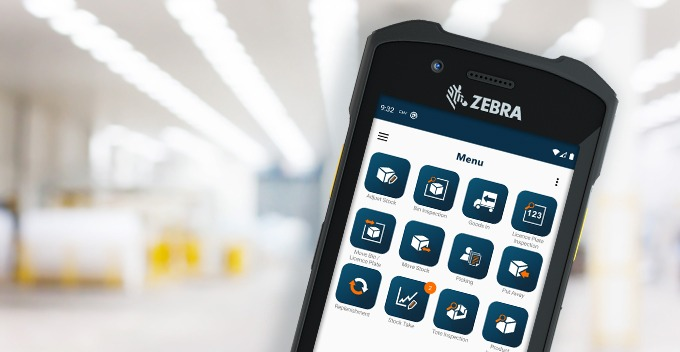 Zebra TC21 and OrderWise Mobile WMS for Android