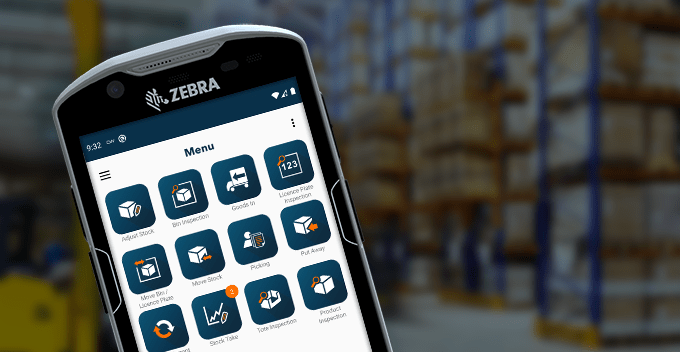Zebra TC52and OrderWise Mobile WMS for Android