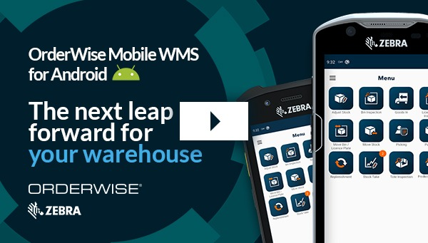 OrderWise Mobile WMS for Android HHT Video