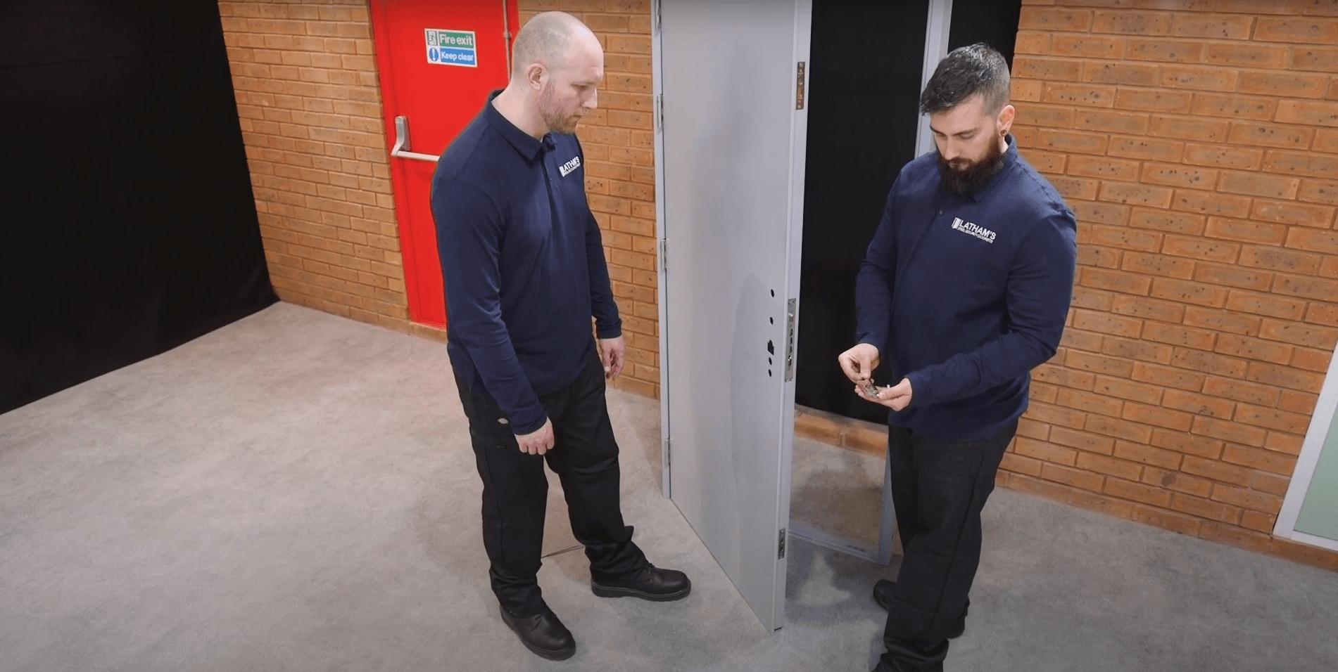 2021 06 23 14 05 51 How to Install a Steel Door Lathams Steel Security Doors YouTube | Orderwise